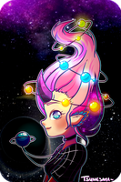 Space hair~ by Tsunesamaa