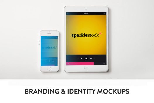 3 Clean Branding and Identity Mockups by pstutorialsws