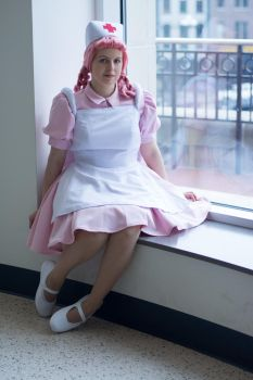 Nurse Joy- Madster Photography Photoshoot by FehFeh13