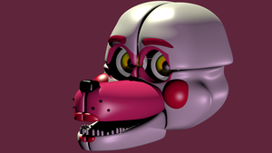 Funtime Foxy Model V3 by Bantranic