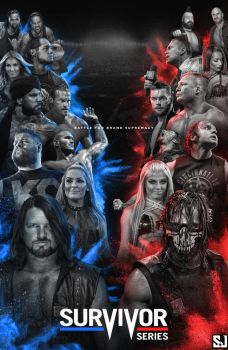Survivor Series 2017 Poster by Sjstyles316
