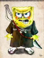 spongebob_shinigami by elisiozero