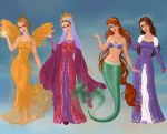 Non/Disney Goddesses - Q by M-Mannering