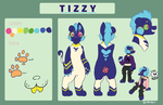 Tizzy ref sheet by SuperSiri
