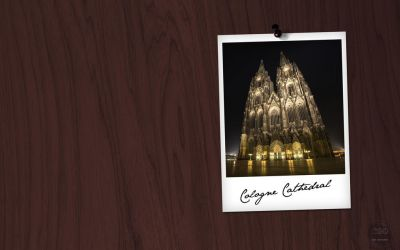 Cologne on Wood by luisegr