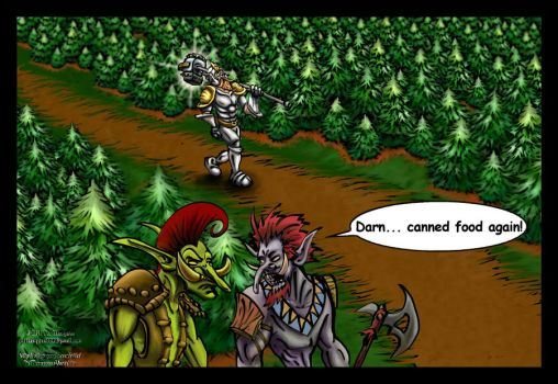 World of Warcraft Cartoon by patthompson008