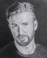 CHRIS EVANS - REALISTIC DESIGN by MAUZIS
