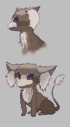 Fursy - Sideview + 3/4 view by Earnster