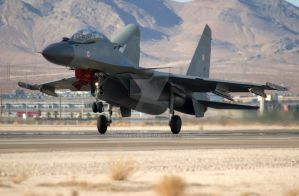 Sukhoi Landing Roll by jdmimages
