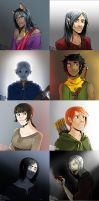 Portraits by mad-m