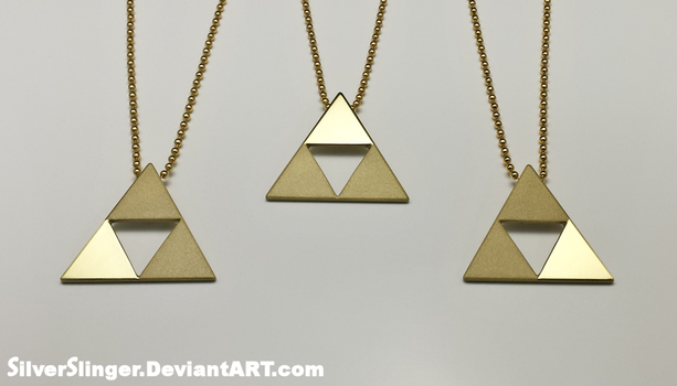 Triforce of Wisdom, Power and Courage by SilverSlinger