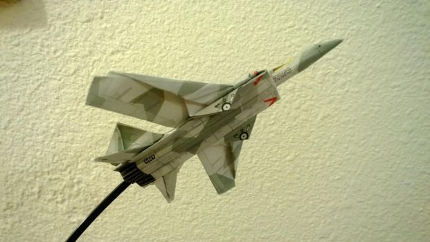 Jet Fighter Underside by taerkitty