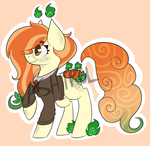 Pumpkin Pie - Scented Pony Adopt (CLOSED) by Ashtrol