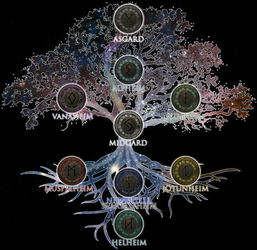 Worlds of Yggdrasil by MOMOpJonny