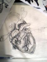 Heart Cords Tattoo WIP by KMoongangSR