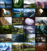 Felvargs Backgrounds by OneMinuteSketch