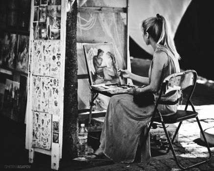 painter by agapovd