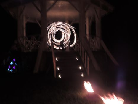 Imbolc Fire Dancing 9 by RobBarker