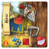Horse - Stable Card by 3exazariusE
