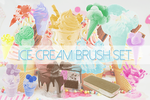 Ice cream Brushes Pack by StarlightSophie