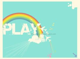play with rainbow by a-anya