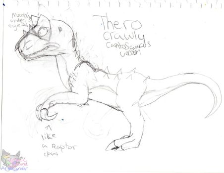 Thero Feature plans sketch by AngelCnderDream14