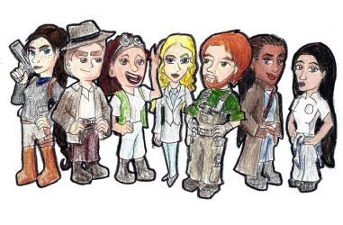 WVCrew Chibis by RogueDragon