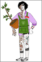 plant guy by triple65forkedtongue
