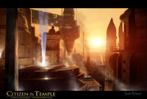 Citizen in the Temple Matte 23-4 by rich35211