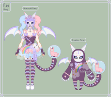 Mozy Maddness - Fae Reference Sheet by theRainbowOverlord