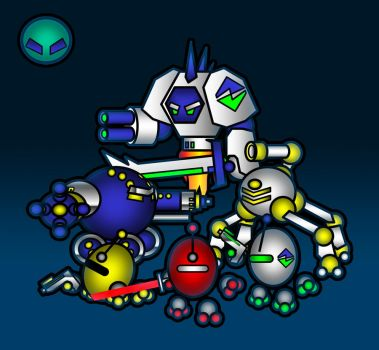 The Game Enemies by Hypergon