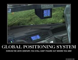 halo GPS demotivational poster by aruon