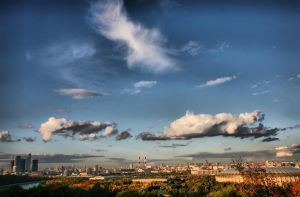 Autumn in Moscow by SenseOfSilence