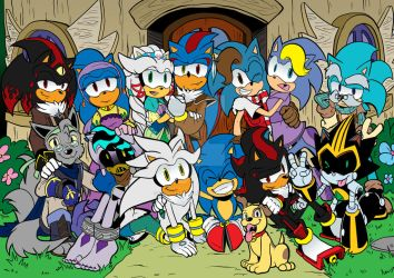 Big Hedgehog Family Picture by LiyuConberma