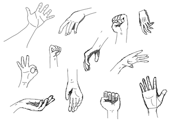 Hand study (Daily 21) by Aurora-Alley