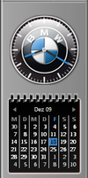 BMW-Clock Sidebar Gadget by Jimmy1969
