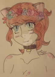 flower crown princess by NarutoHinataLuvr