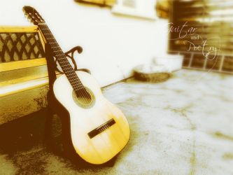 Guitar and Poetry by Lunera-tyl