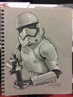First Order Storm Trooper by AlexBuechel