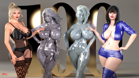 100 Watchers - Thank You by Stevie3D