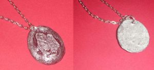 Silent Hill 4 Saint Medallion (pewter) by amybalot