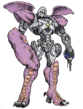 7th-Seal: Megatron Beast Wars by ComicArtistsUnite
