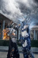Deathwing vs Sindragosa by SheenaWoodPhoto