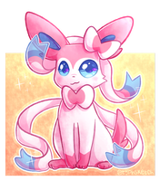 Sylveon by typhsketch