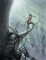 Spiders of Mirkwood by TobyCarr