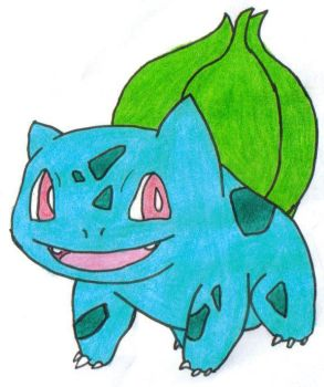 Bulbasaur by Busted-Love