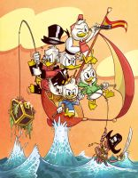 Ducktales (Woo-hoo!) by albonet