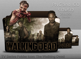 The Walking Dead Folder Icon by atty12