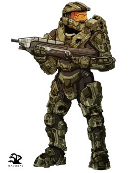 Master Chief by landuo