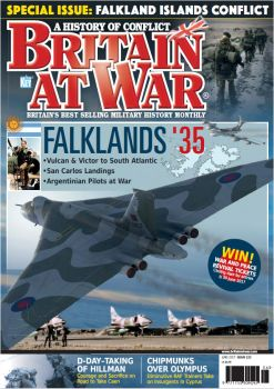 Britain At War Magazine cover Issue 2017 by rOEN911